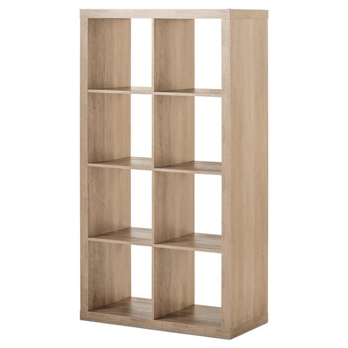 A 8-cube storage unit