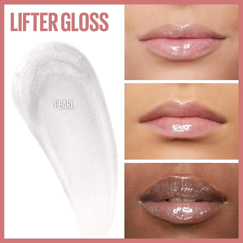 three people wearing the lip gloss