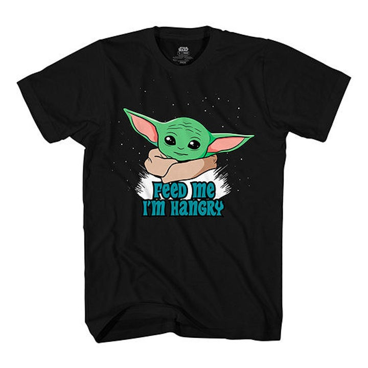 Mandalorian t-shirt with the child on it