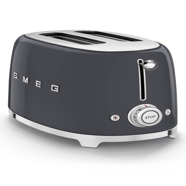 a black smeg toaster