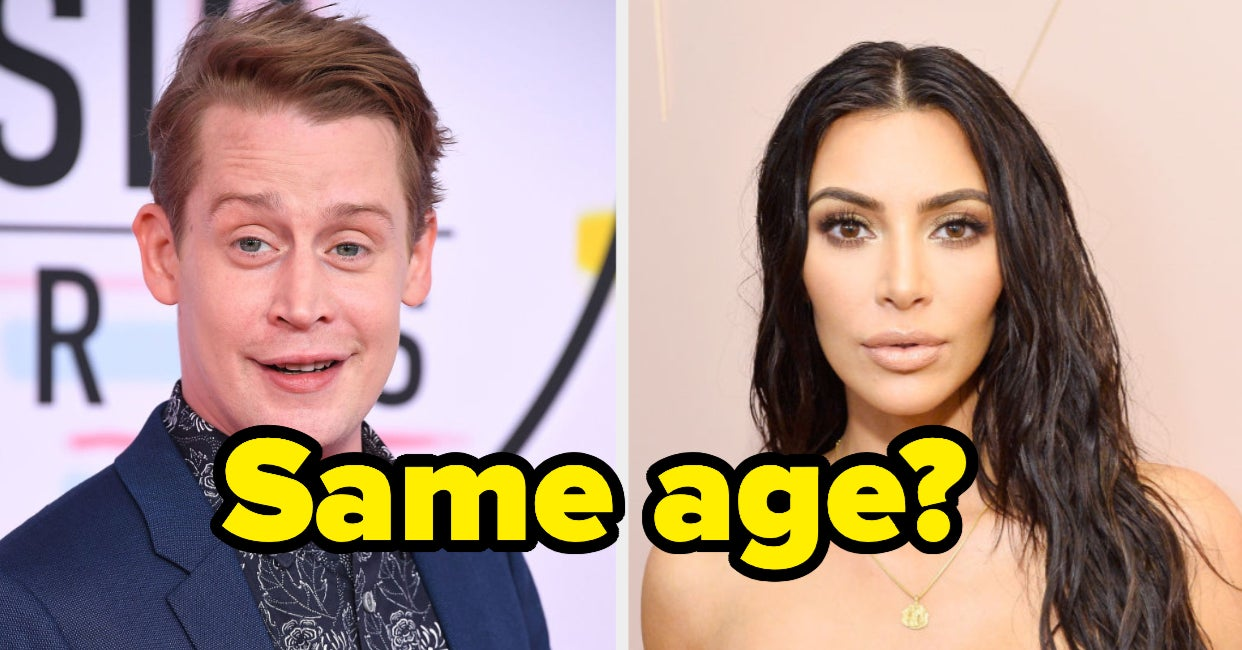 Are These Celebs The Same Age?