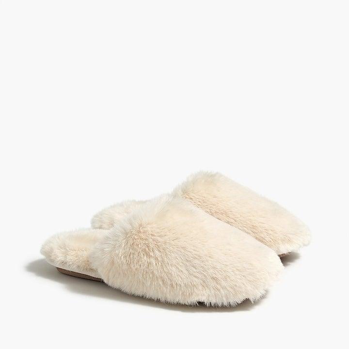 Fuzzy Scuff Slippers