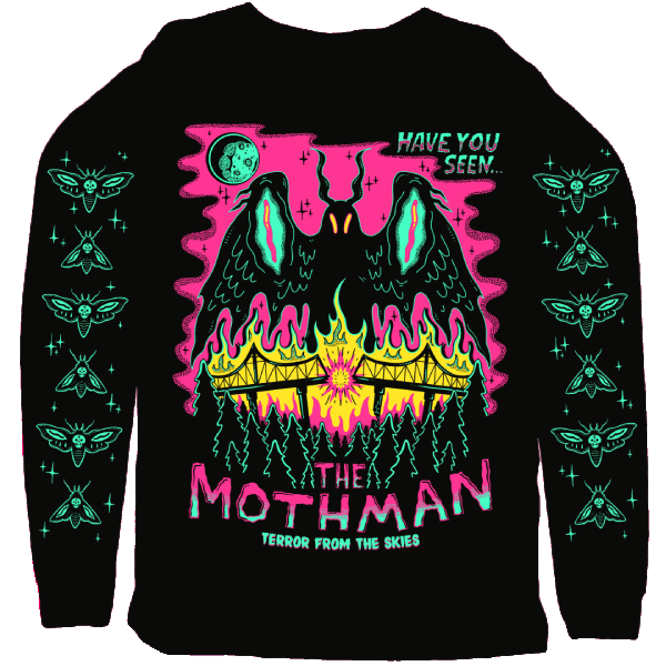Moth Man sweatshirt