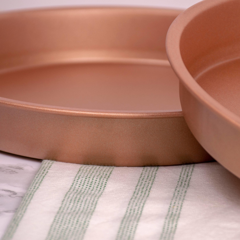 The copper pans