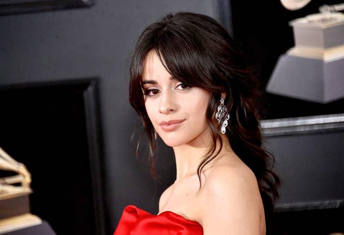 Camila Cabello at the 2018 Grammys
