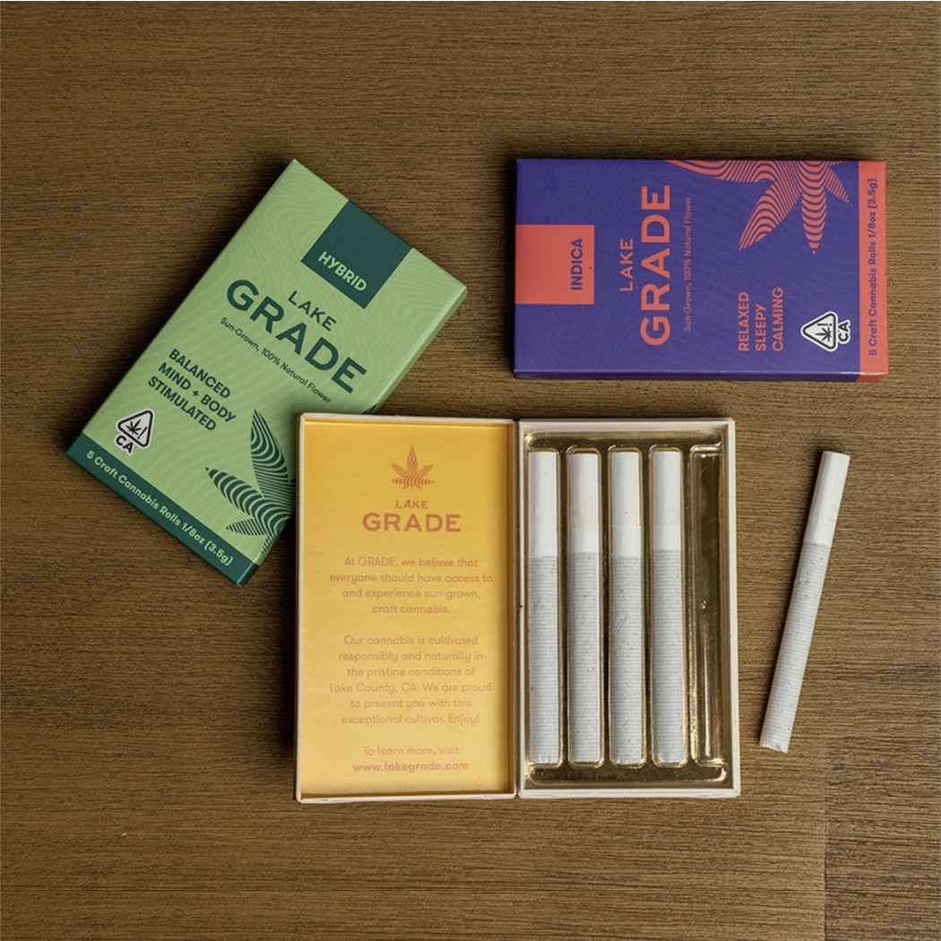 Product image of Lakegrade preroll packages