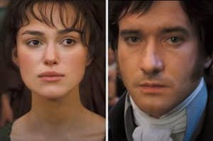Elizabeth and Mister Darcy