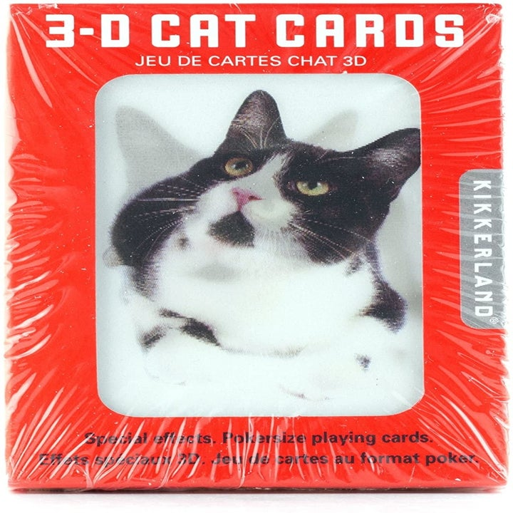 The pack of 3-D cards