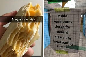 油炸玉米饼mislabled作为案例的想法和Porta-便盆mislabled作为门户便壶