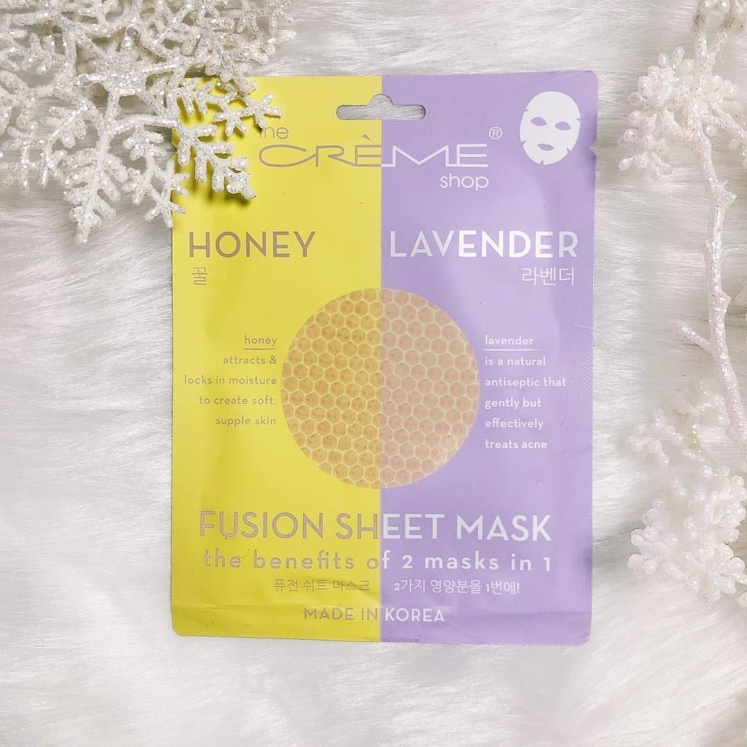 The Creme Shop honey lavender sheet mask