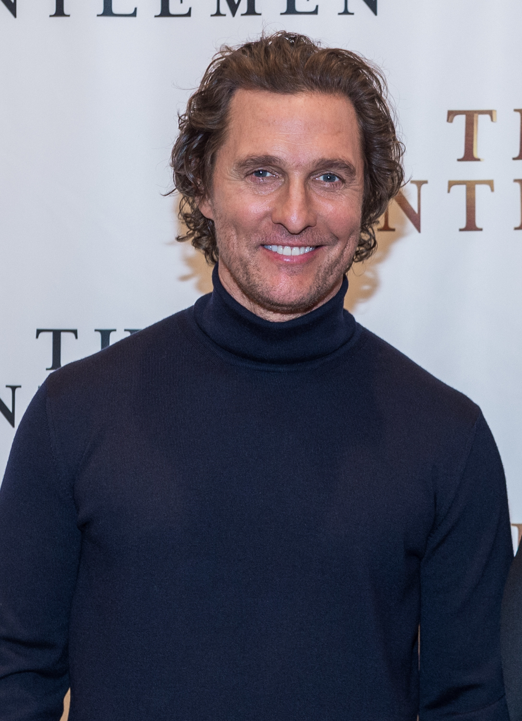 """Matthew McConaughey attends """"The Gentlemen"""" New York City Photo Call at the Whitby Hotel on January 11, 2020 in New York City."""