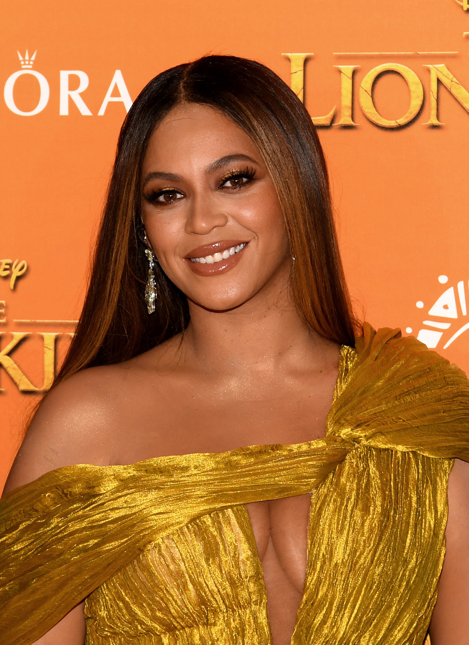 Beyoncé at the London premiere of 'The Lion King' in 2019