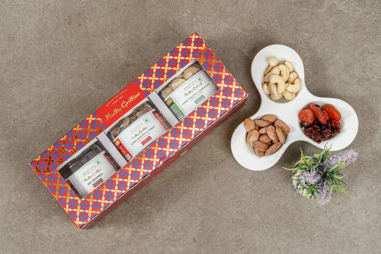 Nuts gift box