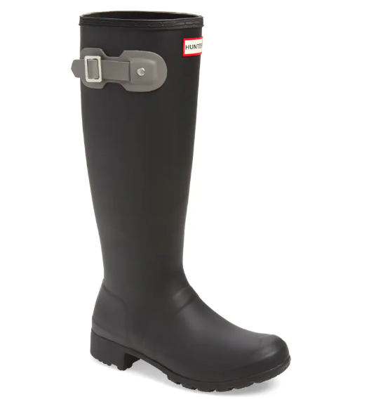 Hunter rainboot in black