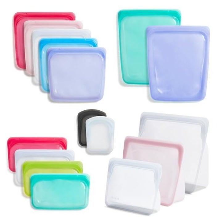 the reusable silicone bags bundle