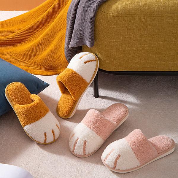 slippers that look like cat feet