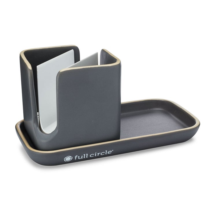 the sink caddy in gray