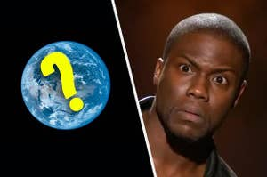 Kevin Hart being very confused by geography