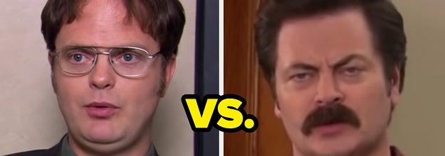 Dwight vs. Ron