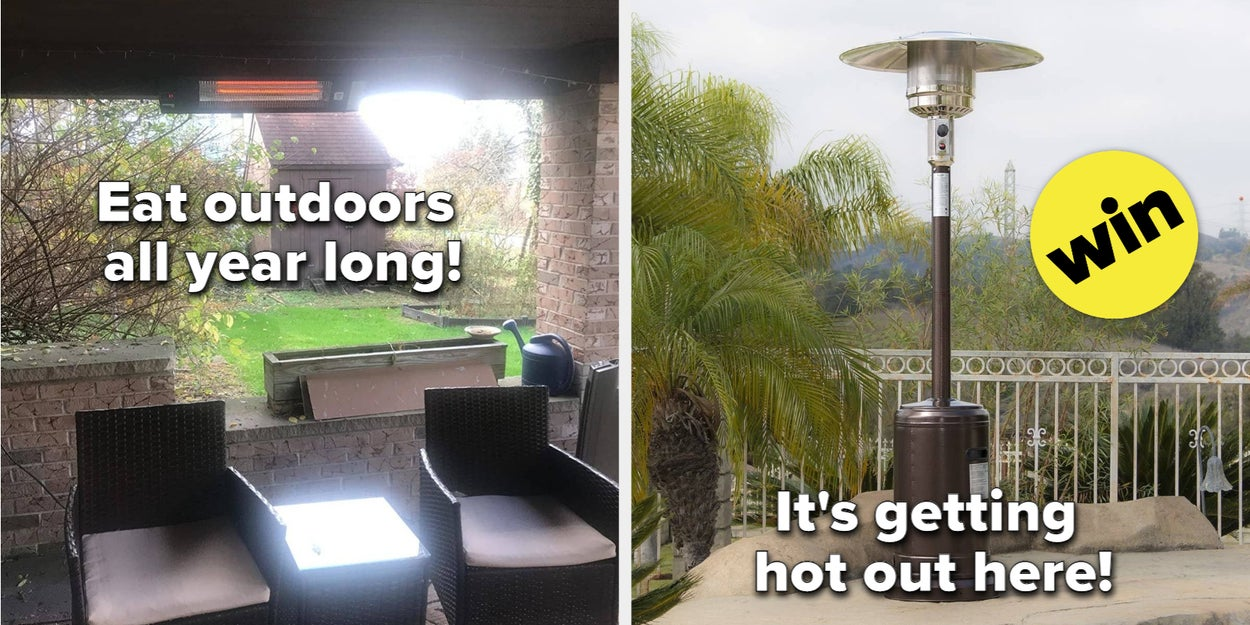 Image of article '9 Outdoor Patio Heaters'