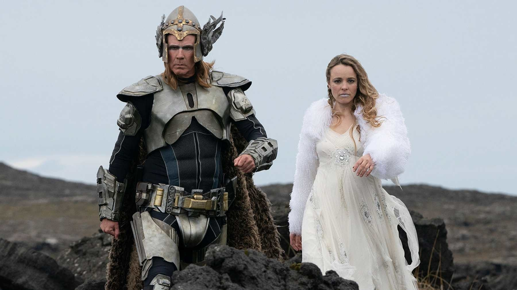 """Will Ferrell as Lars and Rachel McAdams as Sigrit in """"Eurvision Song Contest"""""""