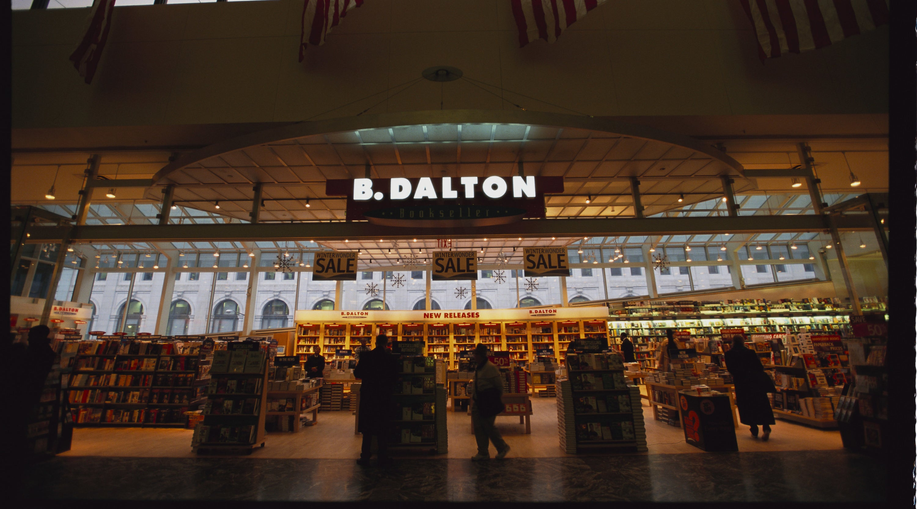 Exterior of B. Dalton Bookstore