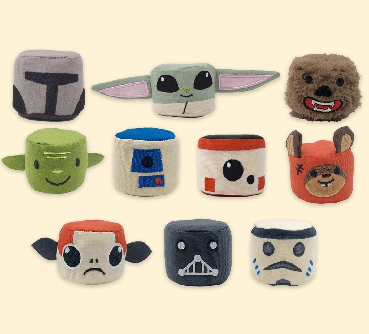 Star Wars squishees