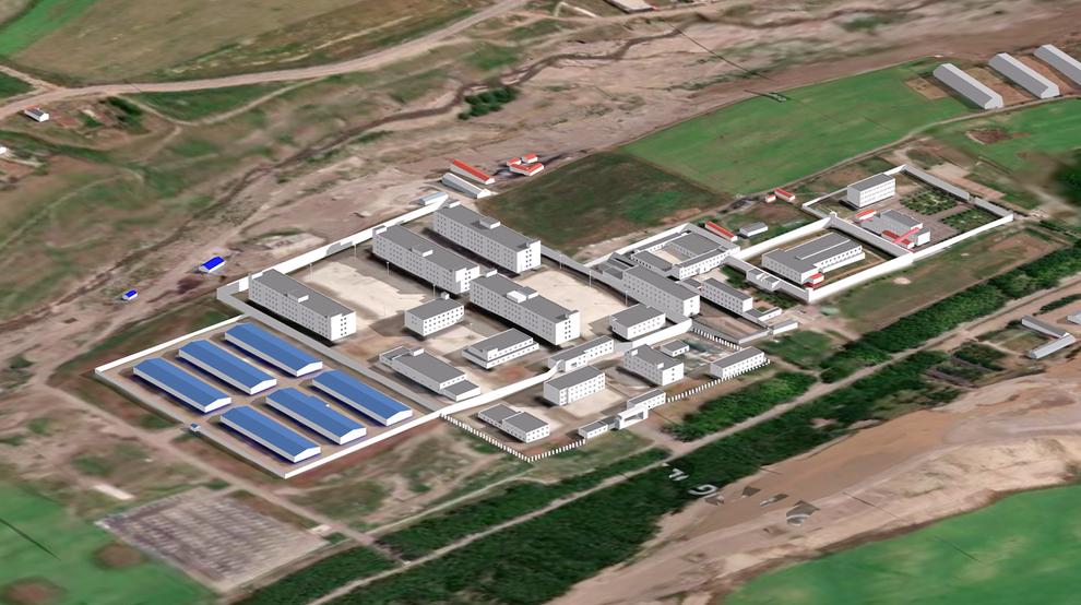 Inside A Xinjiang Detention Camp