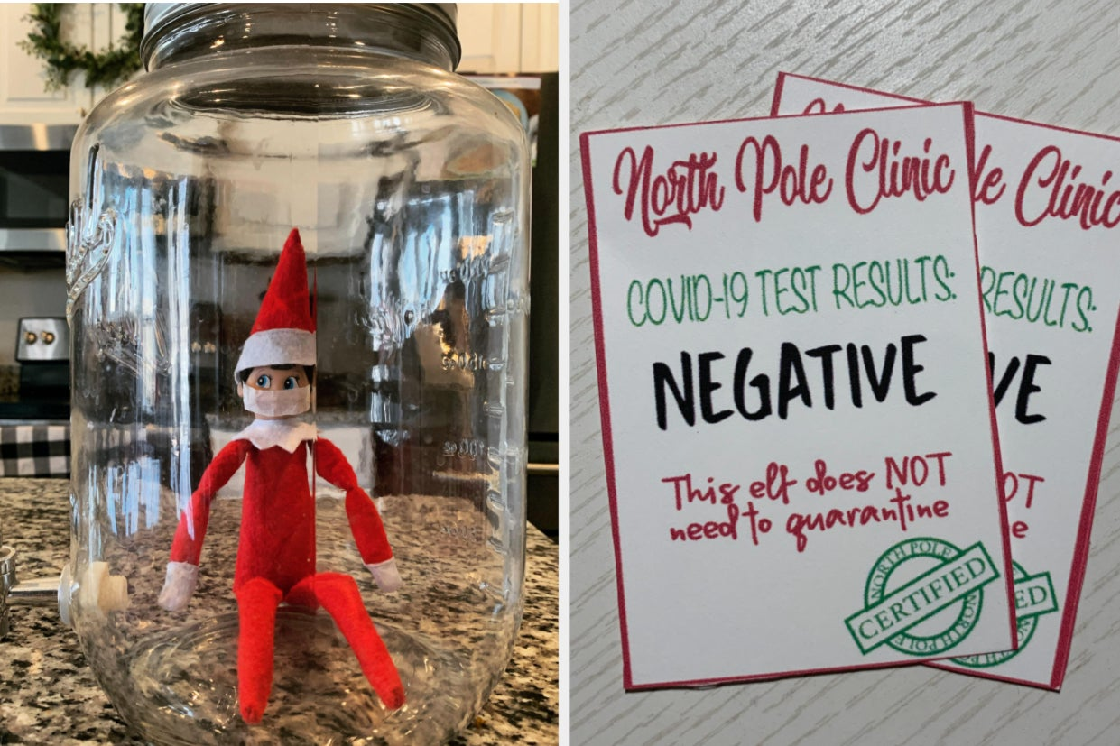 Quarantining Your Elf On The Shelf Is The Very 2020 Thing To Do