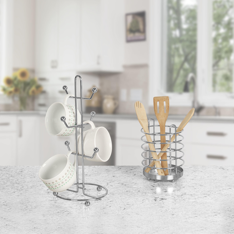 The silver mug holder
