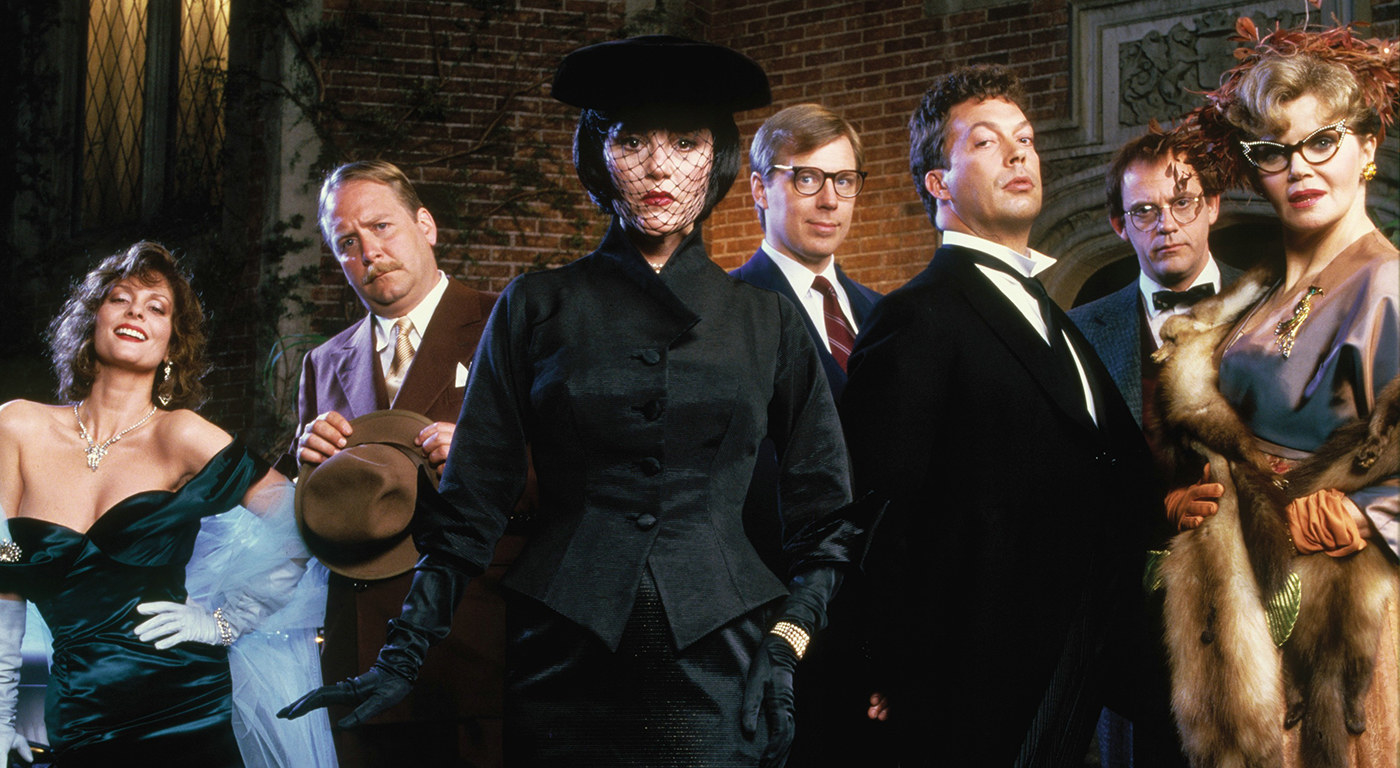 """The cast of """"Clue"""""""