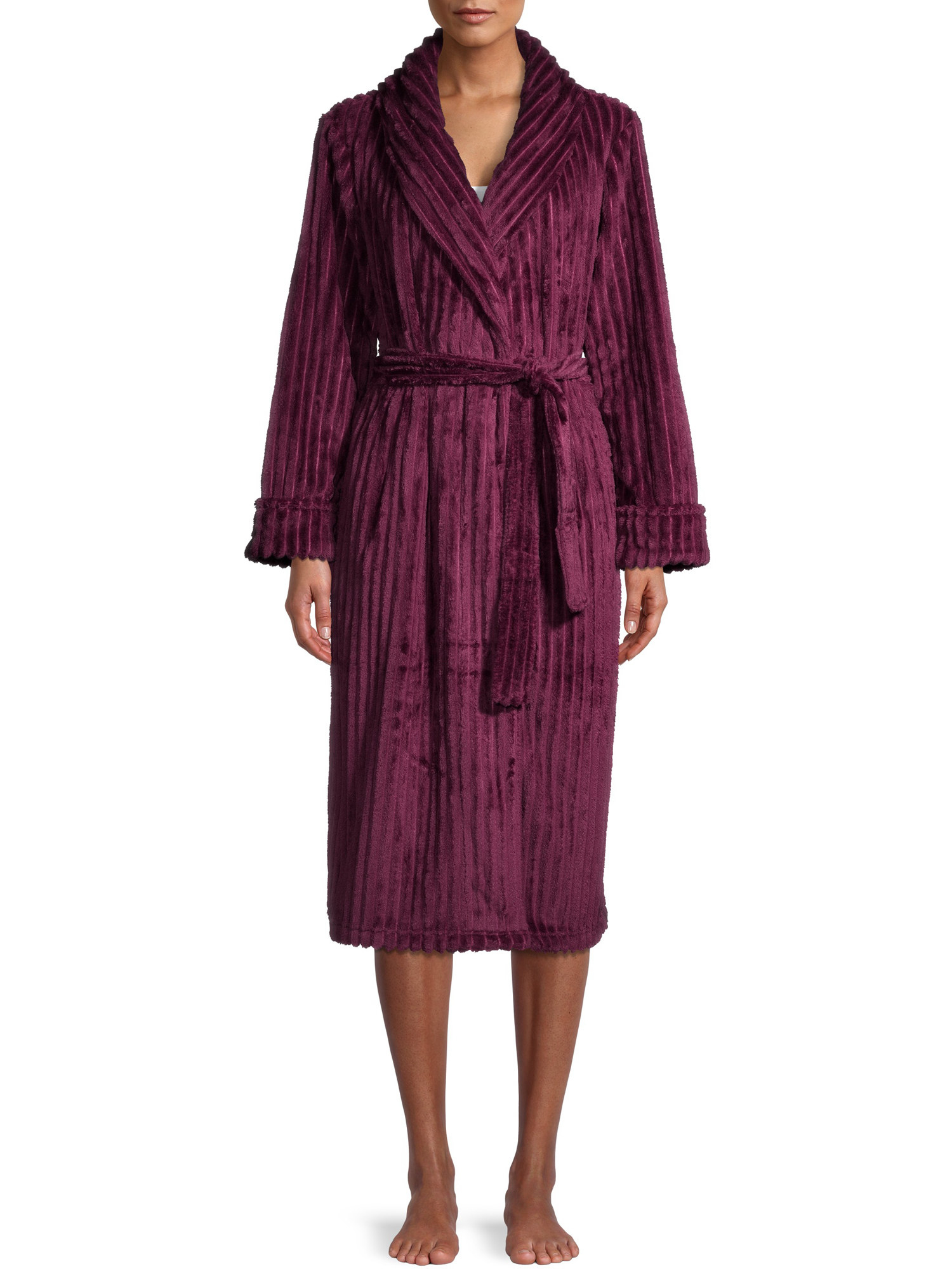 the robe in purple