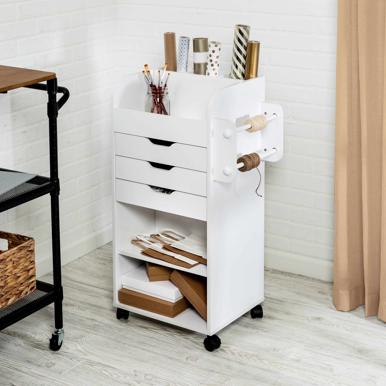 The craft storage cart