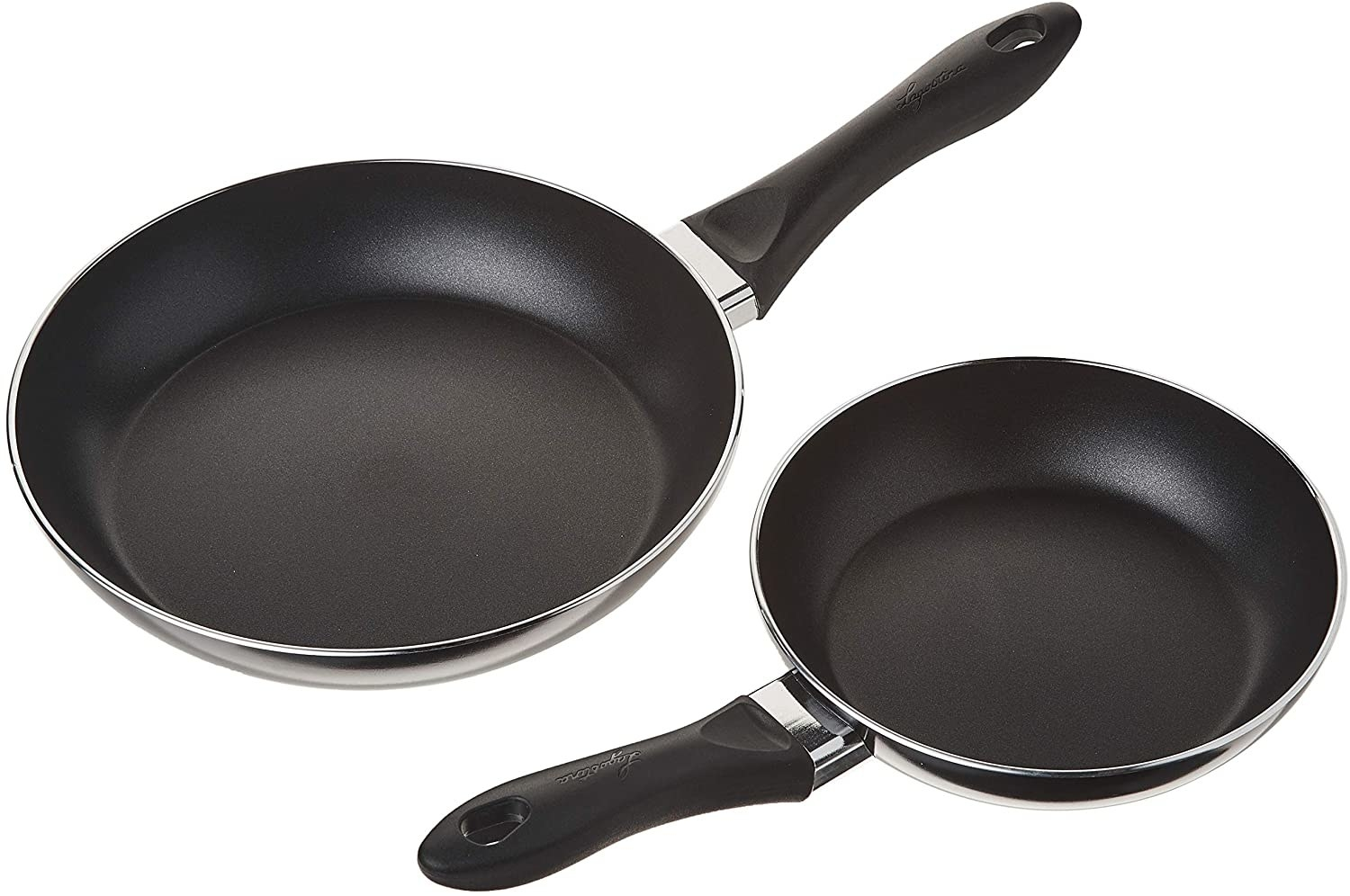 Two non stick frying pans