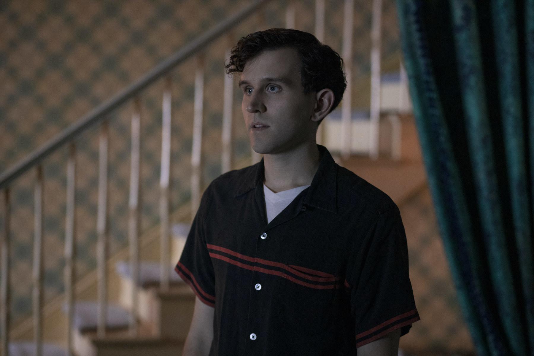 HARRY MELLING as HARRY BELTIK in episode 105 of THE QUEEN'S GAMBIT