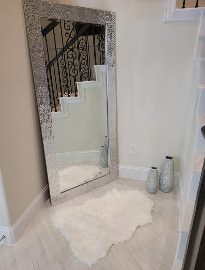 Reviewer photo of mirror in home