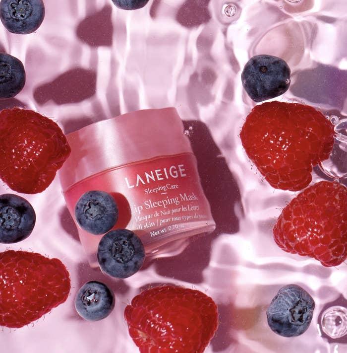 Laneige Lip Sleeping Mask in berry