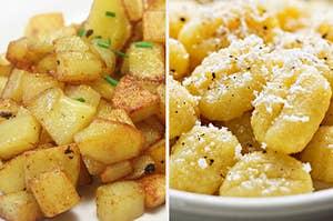 家薯条和土豆汤团