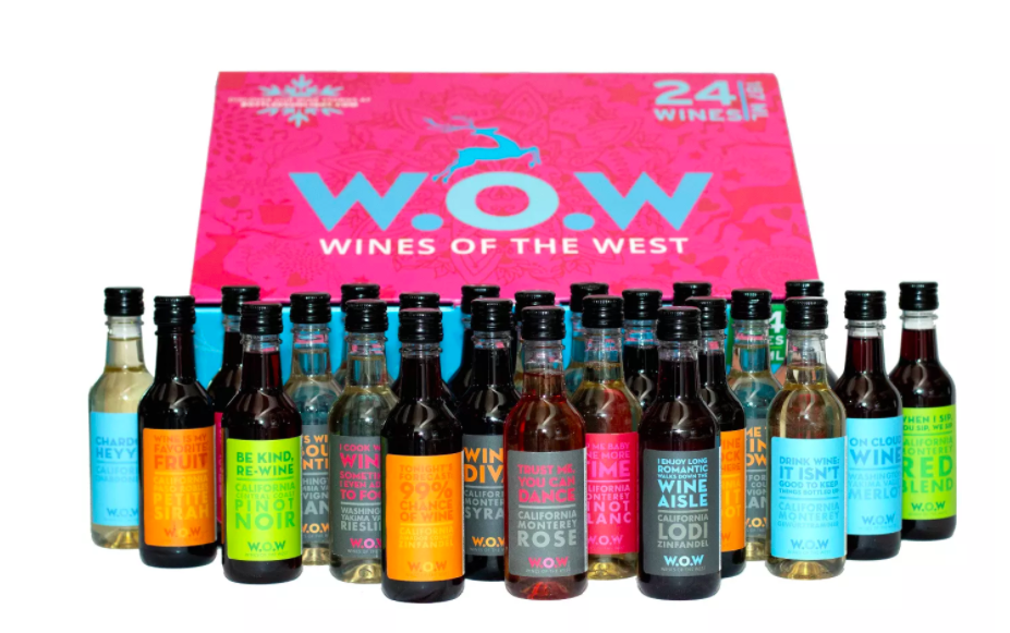 W.O.W Holiday Wine Advent Calendar.