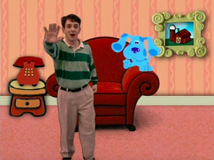 Steve waving goodbye to us