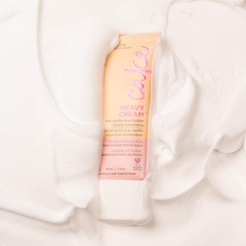 hand balm in a pile of lotion