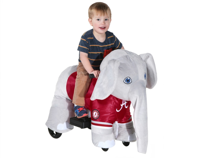 The collegiate plush ride-on toy