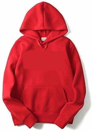 Red hoodie.