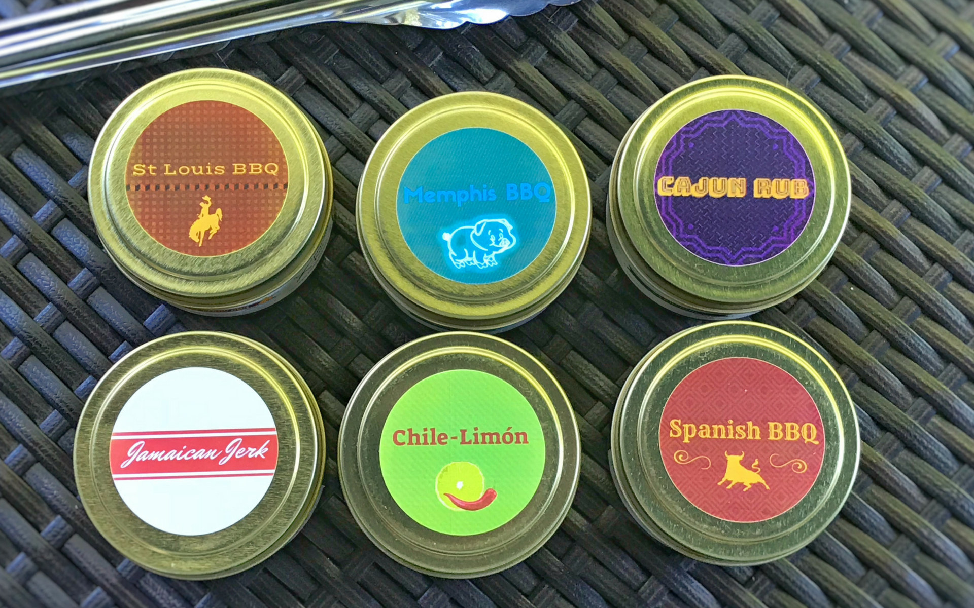 the six golden tins