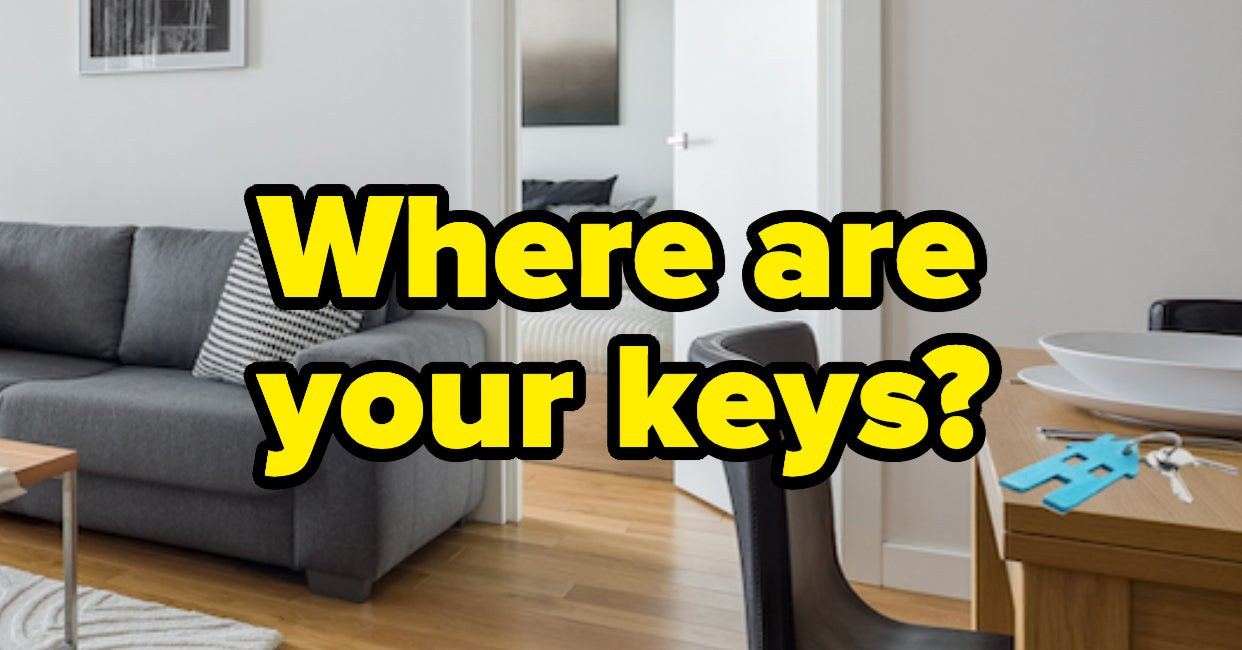Can You Find Your Keys?