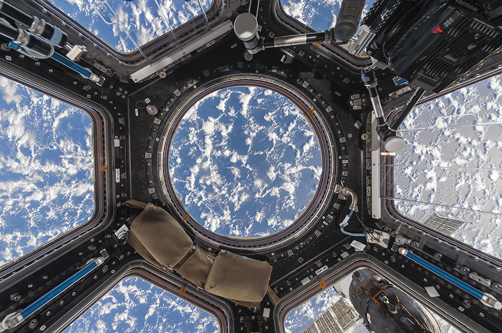 A view of Earth from the International Space Station