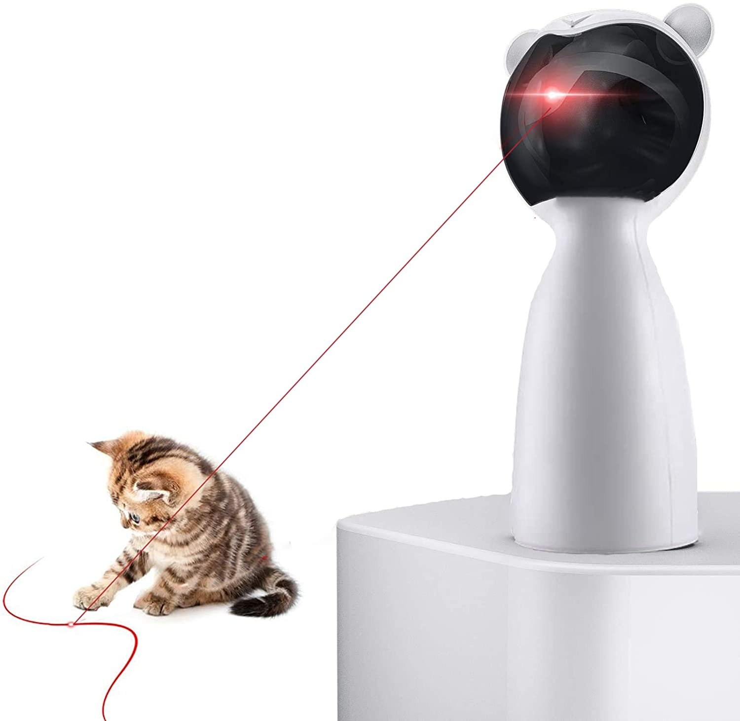 The laser cat toy
