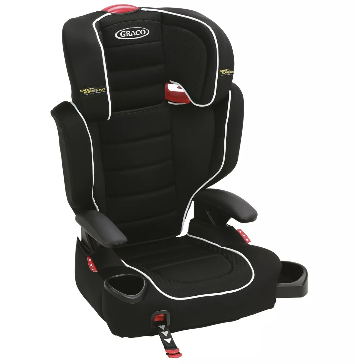 The black car seat