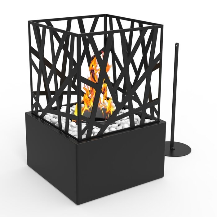 the regalflame bruno ventless portable fireplace