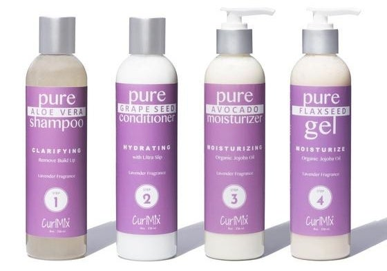 The lavender moisturizing formula